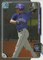 2015 Bowman Chrome Draft #111 Tyler Nevin, Colorado Rockies
