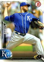 2016 Bowman #119 Wade Davis, Kansas City Royals