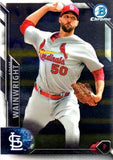 2016 Bowman Chrome #66 Adam Wainwright, St. Louis Cardinals