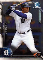 2016 Bowman Chrome #95 Justin Upton, Detroit Tigers