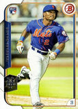 2015 Bowman #129 Dilson Herrera, New York Mets, Rookie Card (RC)