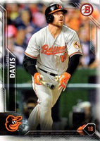 2016 Bowman #12 Chris Davis, Baltimore Orioles