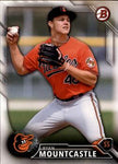 2016 Bowman Draft #BD-199 Ryan Mountcastle, Baltimore Orioles