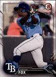 2016 Bowman Draft #BD-200 Lucius Fox, Tampa Bay Rays
