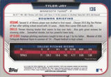 2015 Bowman Chrome Draft #136 Tyler Jay, Minnesota Twins