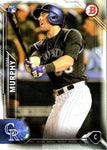 2016 Bowman #148 Tom Murphy, Colorado Rockies,