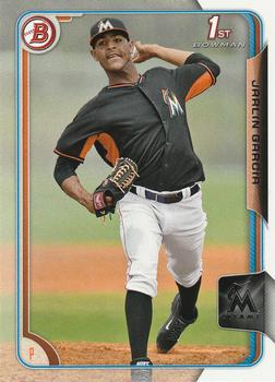 2015 Bowman Prospects #BP148 Jarlin Garcia, Miami Marlins