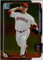 2015 Bowman Chrome Prospects  #BCP15 Jeremy Rhoades, Los Angels Angels