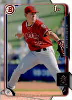 2015 Bowman Prospects #BP17 Trevor Gott, Los Angeles Angels