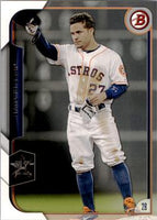 2015 Bowman #30 Jose Altuve, Houston Astros