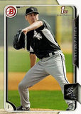 2015 Bowman Prospects #BP45 James Dykstra, Chicago White Sox