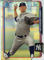 2015 Bowman Chrome Draft #58 James Kaprielian, New York Yankees