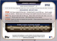 2015 Bowman Prospects #BP60 James Needy, San Diego Padres