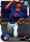 2016 Bowman Chrome Prospects #BCP249 Triston McKenzie, Cleveland Indians