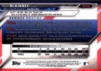 2016 Bowman Chrome Prospects #BCP8 Billy McKinney, Chicago Cubs
