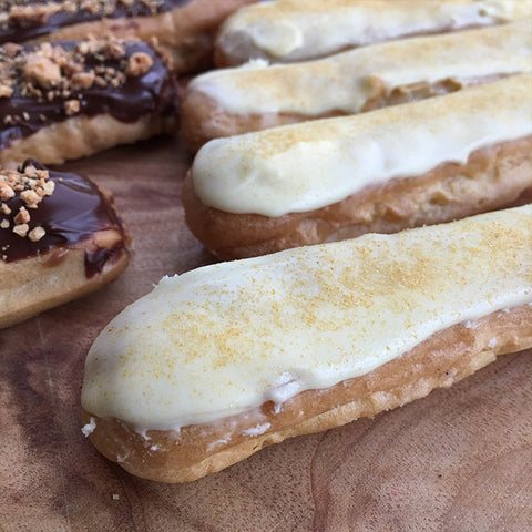 Passion Fruit Eclairs