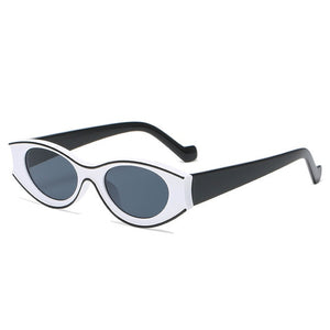 White and black sunglasses