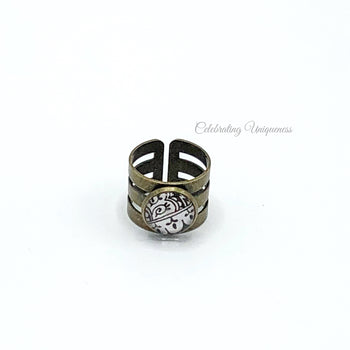 Bronze Rings, Flattering Style