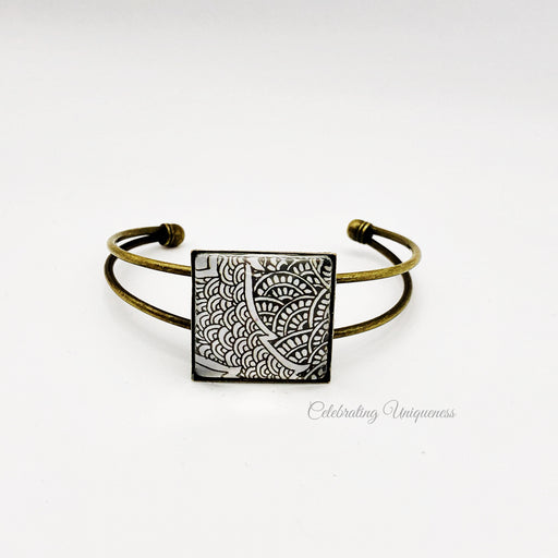 One-of-a-kind Bronze bracelet, Unique gifts for her - MeCelebratingU