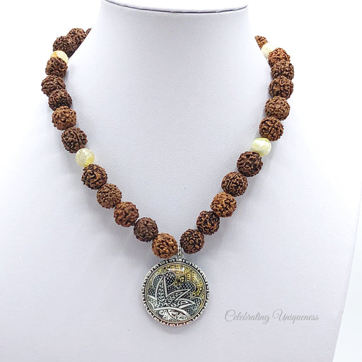 Rudraksha Healing Beaded Necklace, Deep connections - MeCelebratingU