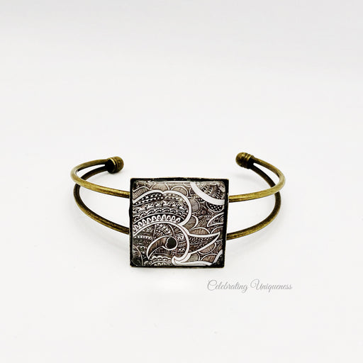 Bronze Bracelet Peacock, Striking wearable art - MeCelebratingU