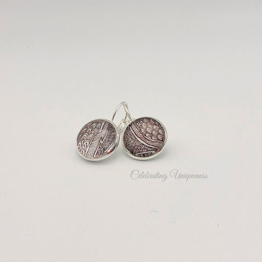 Silver Dangle Earrings, Distinctive beauty - MeCelebratingU