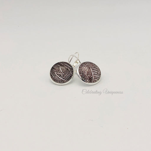 Unique Silver Ear Studs for her - MeCelebratingU