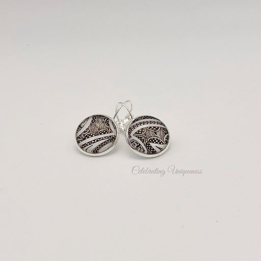 Silver Dangle Earrings, Unique gifts for her - MeCelebratingU
