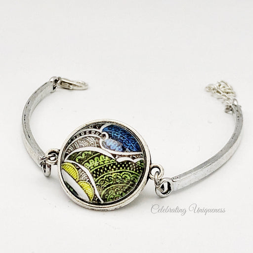 Silver Bracelet, One of a kind - MeCelebratingU