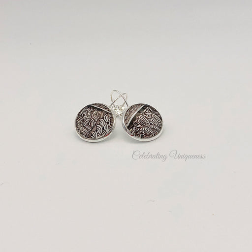 Silver Dangle Earrings, One of a kind gift - MeCelebratingU