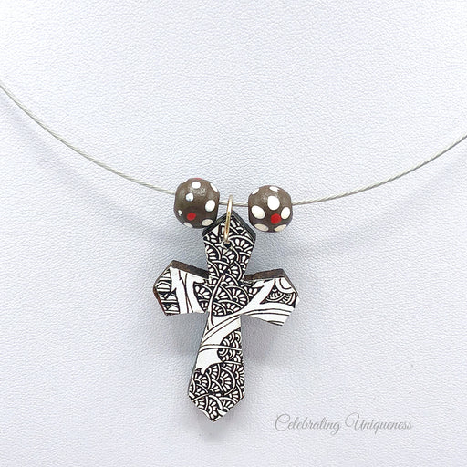 Necklace with Cross Pendant, Unique gifts for her - MeCelebratingU