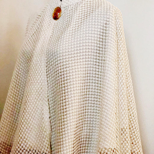Pearl White Lace Cape, Classy beyond words - MeCelebratingU