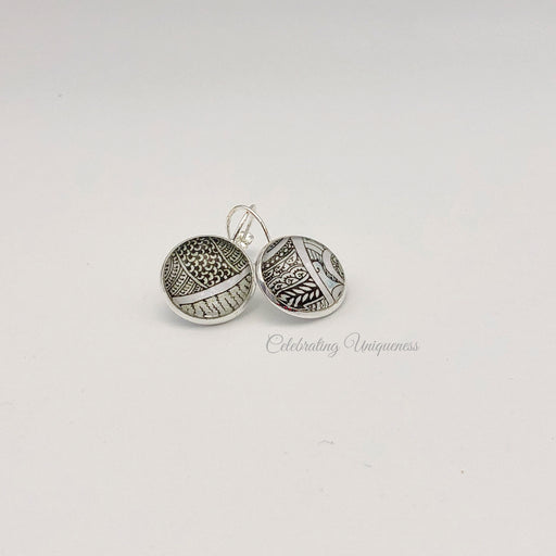 Silver Dangle Earrings, Standout style - MeCelebratingU