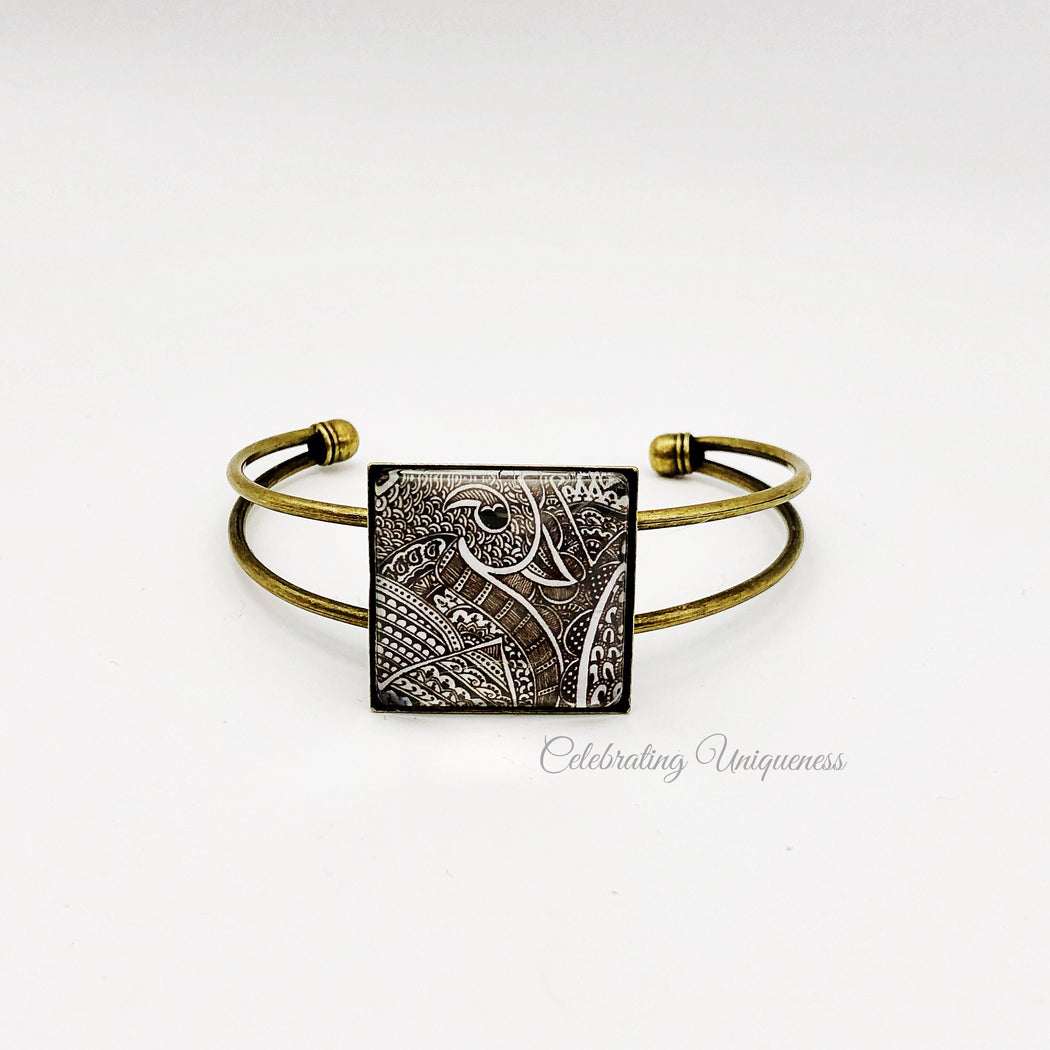 Adjustable Bronze Bracelet, a fashion faithful - MeCelebratingU