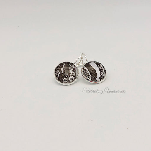 Silver Dangle Earrings in Boho Style - MeCelebratingU