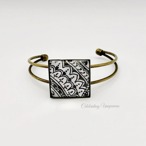 Wearable art Bronze Bracelet - MeCelebratingU