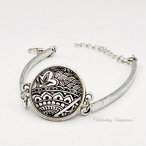 Silver Bracelet, Love of the ocean - MeCelebratingU