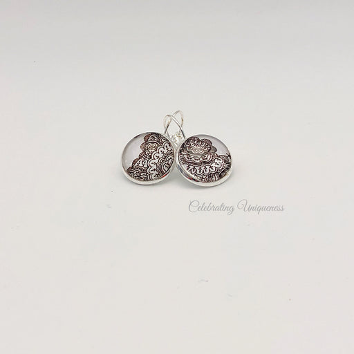 Boho Style Unique Silver Dangle Earrings - MeCelebratingU
