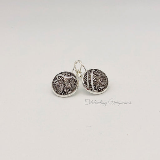 Boho Style Silver Dangle Earrings - MeCelebratingU