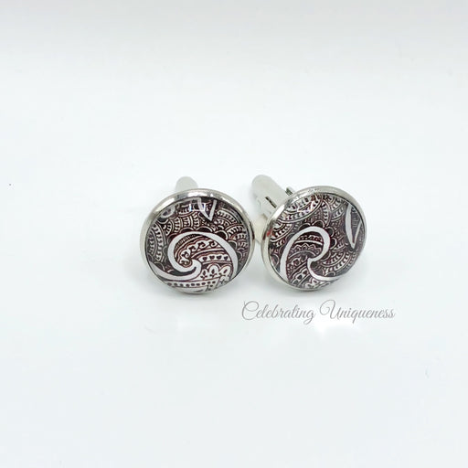 Silver Cufflinks, A unique gift - MeCelebratingU