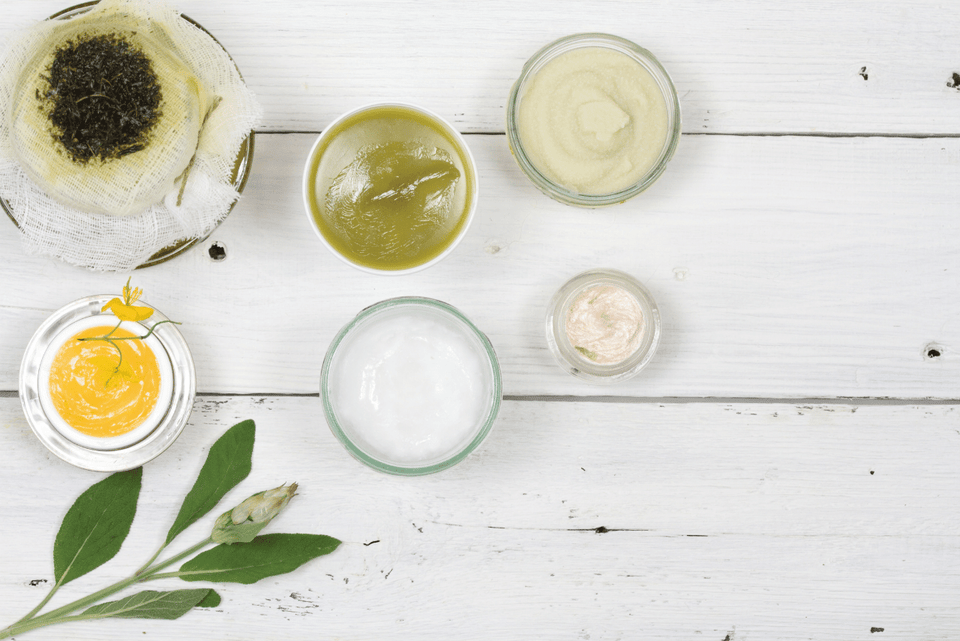 Healing Balms, Creams, and Ointments