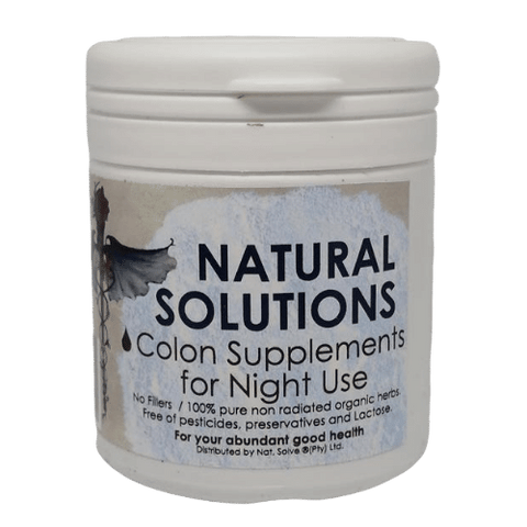 Colon Supplements for Night Use - Gesundheit