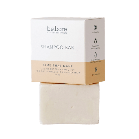 be.bare Tame That Mane Shampoo Bar