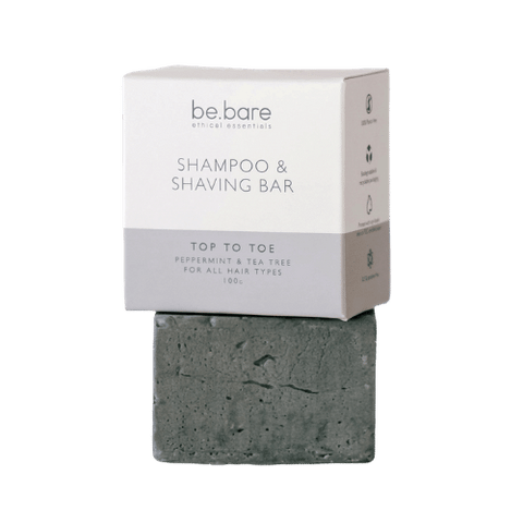 be.bare Top To Toe Shampoo & Shaving Bar