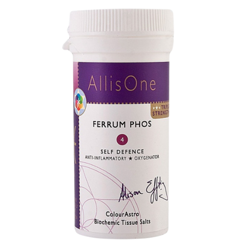 Ferrum Phos Tissue Salt No.4 - Anti-Inflammatory & Oxygenation