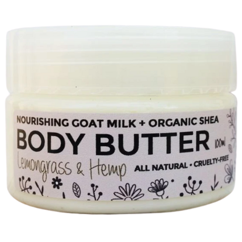Lemongrass & Hemp Goat Milk Body Butter