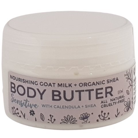 Sensitive With Calendula & Shea Goat Milk Body Butter