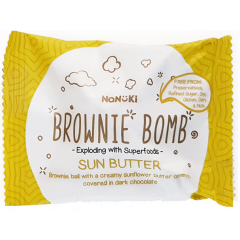 Nanuki Brownie Bar Sun Butter