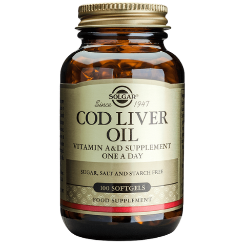 One-a-Day Norwegian Cod Liver Oil 100 Capsules