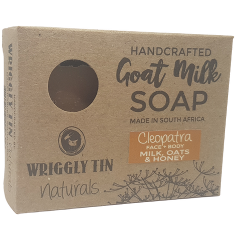 Cleopatra (Face & Body Bar) - Milk, Oats & Honey Goat Milk Soap